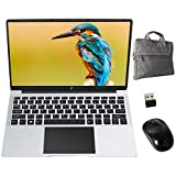 Laptop 14,1'' FHD 1920 x 1080 GOODTEL B2 Notebook mit Intel® Celeron 6GB RAM 64GB SSD Windows 10 64 Bits, unterstützt 512 GB SD Karte, WiFi | Webcam | Bluetooth | HDMI, mit Maus und Laptoptasche