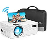 WiFi Beamer 4500 Lux, VANKYO Leisure 470 Wireless Beamer, Support 1080P Full HD Heimkino Beamer WLAN, kompatibel mit TV Stick, HDMI, SD, AV, VGA, USB, PS4, X-Box, iOS/Android Smartphone Projektor
